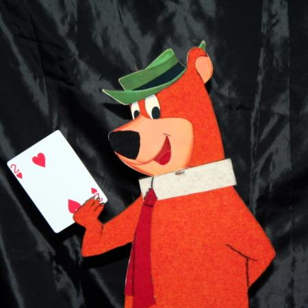 Forgetful Yogi Bear by Warren Hamilton