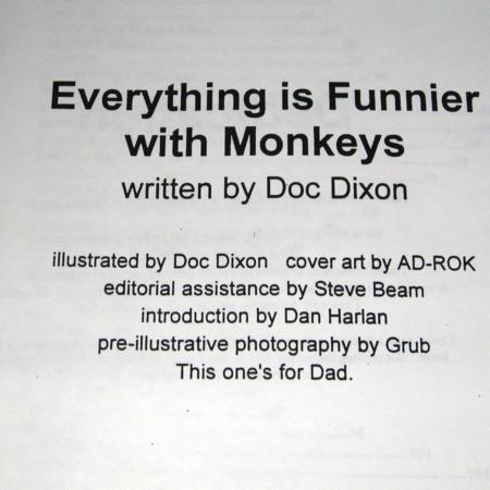 Everything is Funnier With Monkeys by Doc Dixon