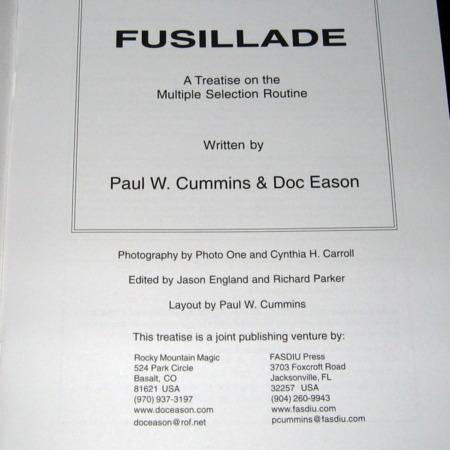 Fusillade by Paul Cummins, Doc Eason