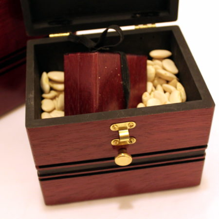Bean Box (Purple Heart) by Louis Gaynor