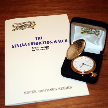 Geneva Prediction Watch Manuscript by Jeff Sheridan