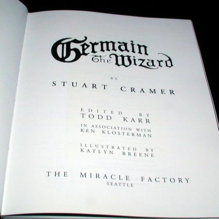 Germain the Wizard by Stuart Cramer