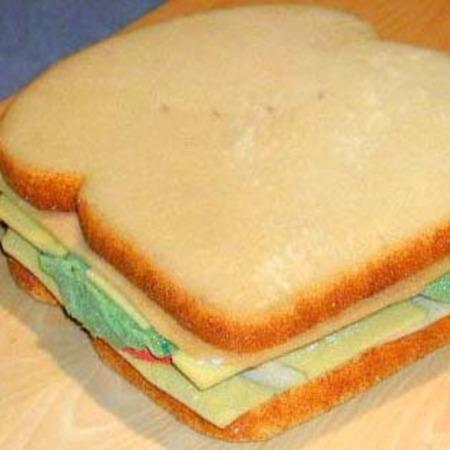 Giant Production Sandwich by Unknown