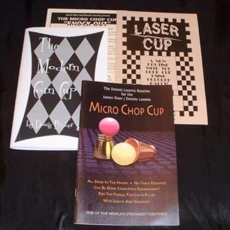 Gold Micro Chop Cup Set No. 7 by Jim Riser/Dennis Loomis
