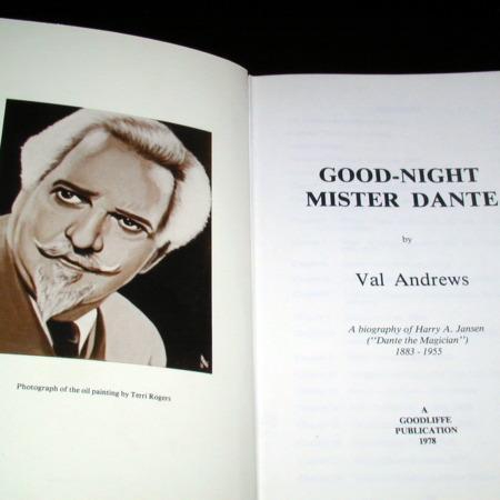 Goodnight Mr. Dante by Val Andrews