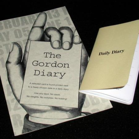Gordon Diary by Paul Gordon