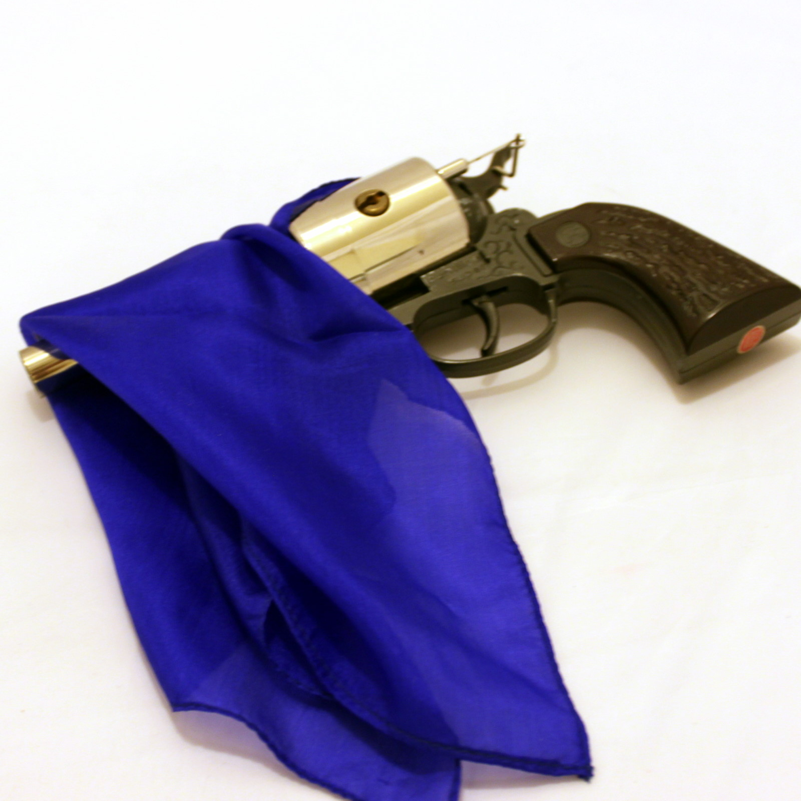 Vintage German Silk Vanishing Pistol by Germany