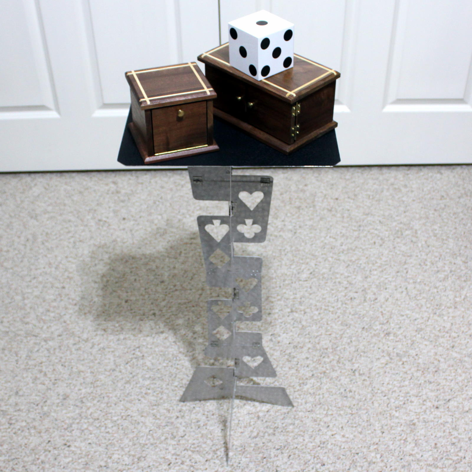 Harbin Style Table - Metal by Unknown
