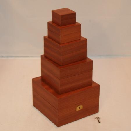 Mahogany Boxes by Hardini