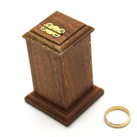 Ring and Coin Tower by Hardini