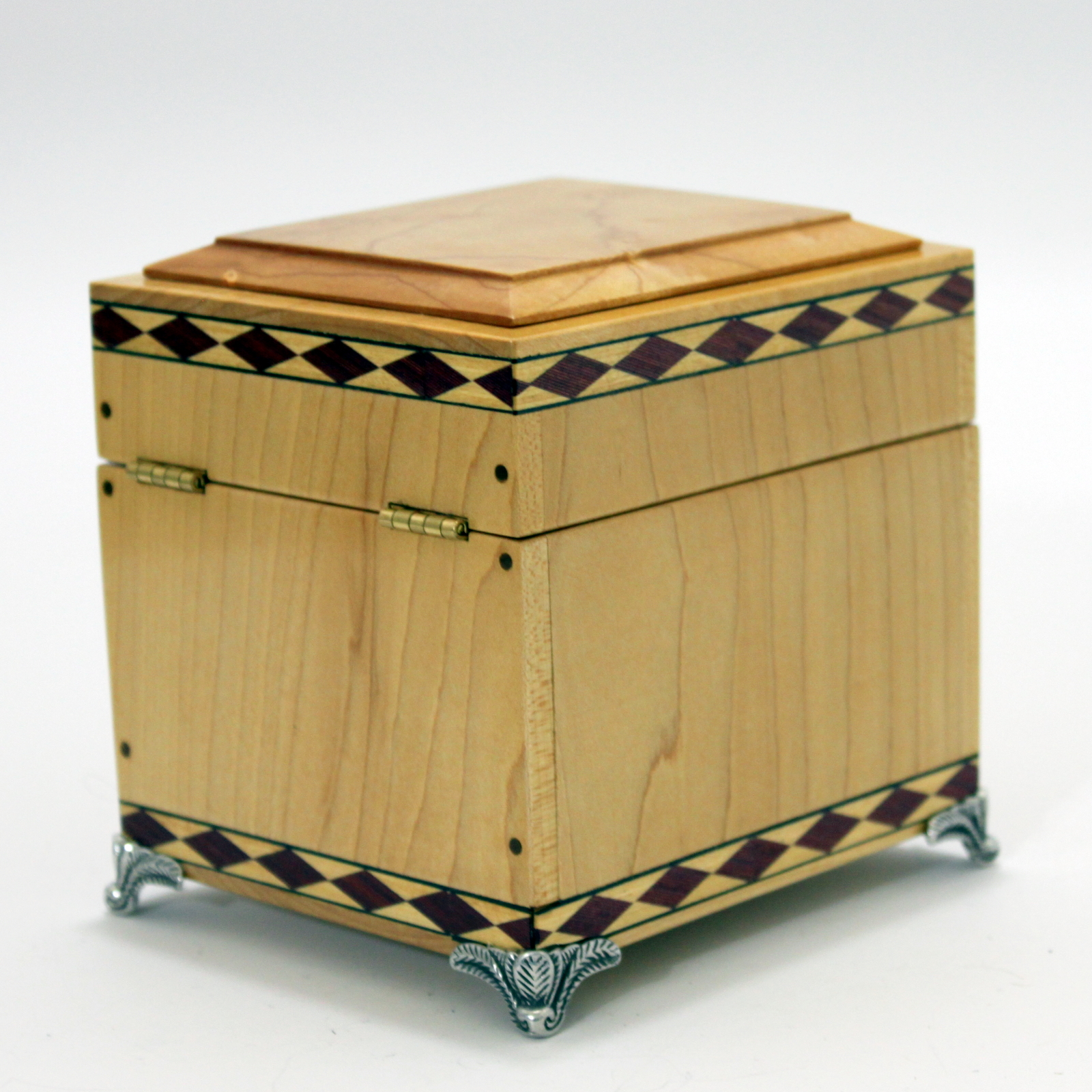 Harlequin Box (Hard Maple) by Dave Powell