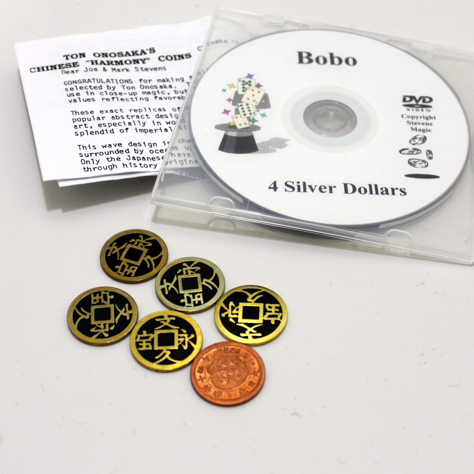Harmony Coins Quarter Size Deluxe by Ton Onosaka