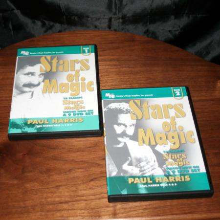 Stars of Magic DVD - Vols.1-2 by Paul Harris