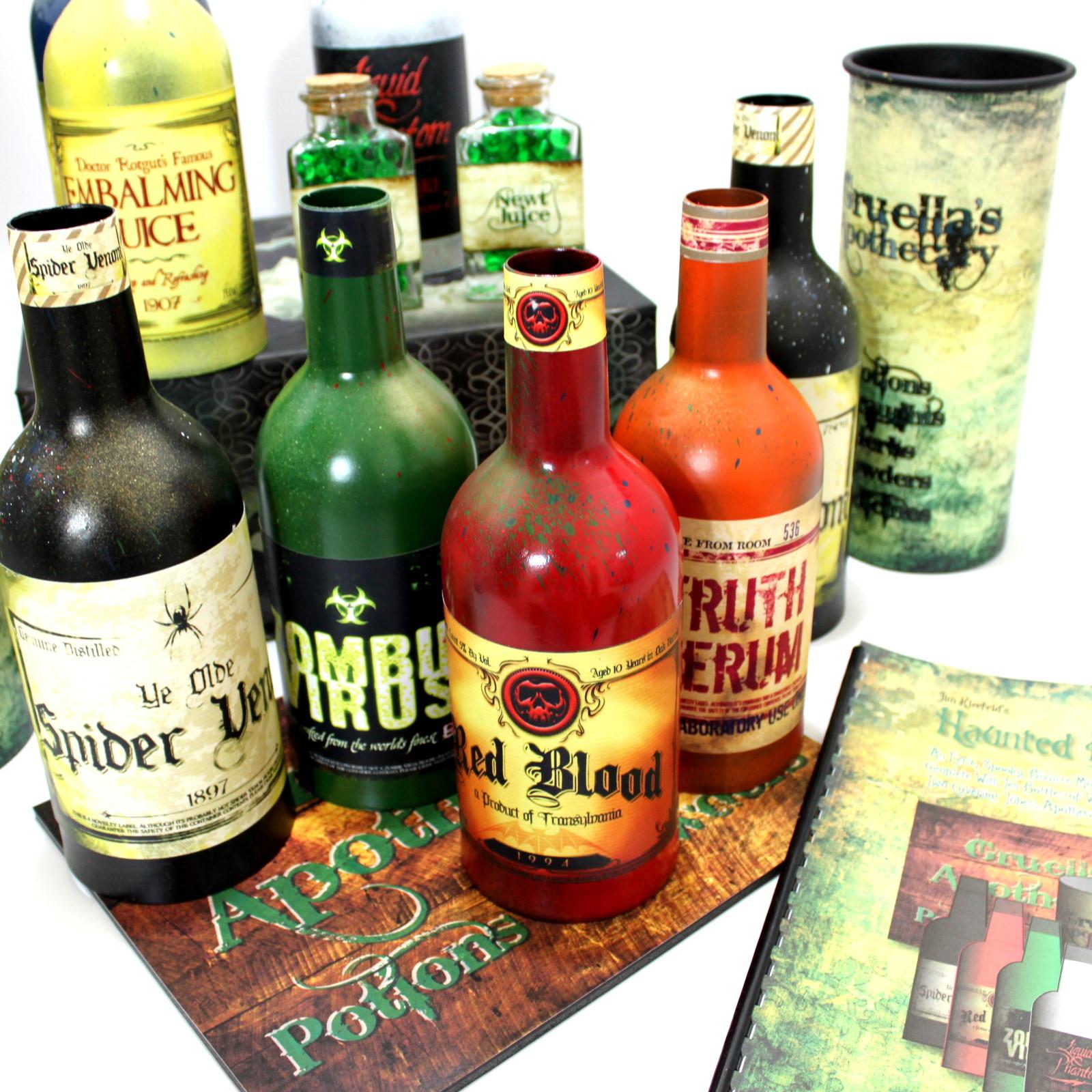 Haunted Multiplying Bottles by Jim Kleefeld