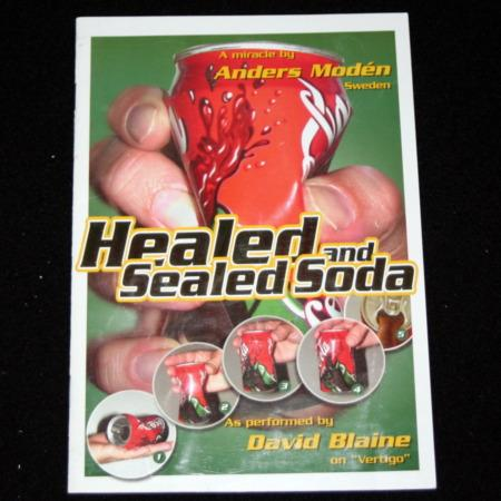 Healed and Sealed Soda by Anders Moden