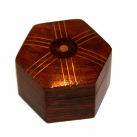 Review by Anonymous for Hexed Ring Box by Sam Dalal
