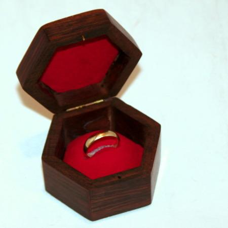 Hexed Ring Box by Sam Dalal