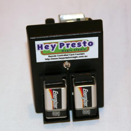 Remote Controlled Card Fountain (Poker) by Hey Presto