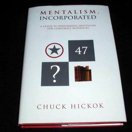 Mentalism, Incorporated by Chuck Hickok