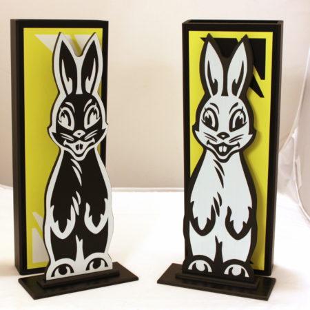 Hippity Hop Rabbits De-Luxe by Germany