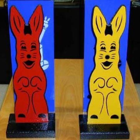 Hippy Hop Rabbits by Mak Magic