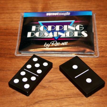 Hopping Dominoes by Ree-Nee
