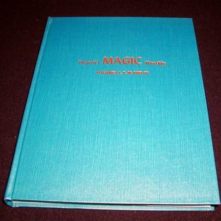 Hugard's Magic Monthly - Vols. 1-4 by Jean Hugard