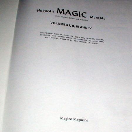 Hugard's Magic Monthly - Vols. 1-4 by Jean Hugard