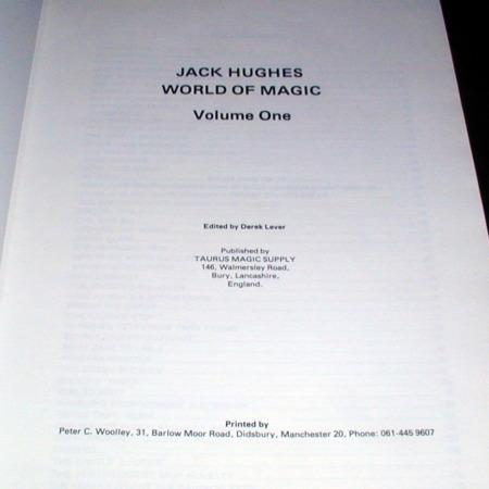 World of Magic - Vol. 1 by Jack Hughes