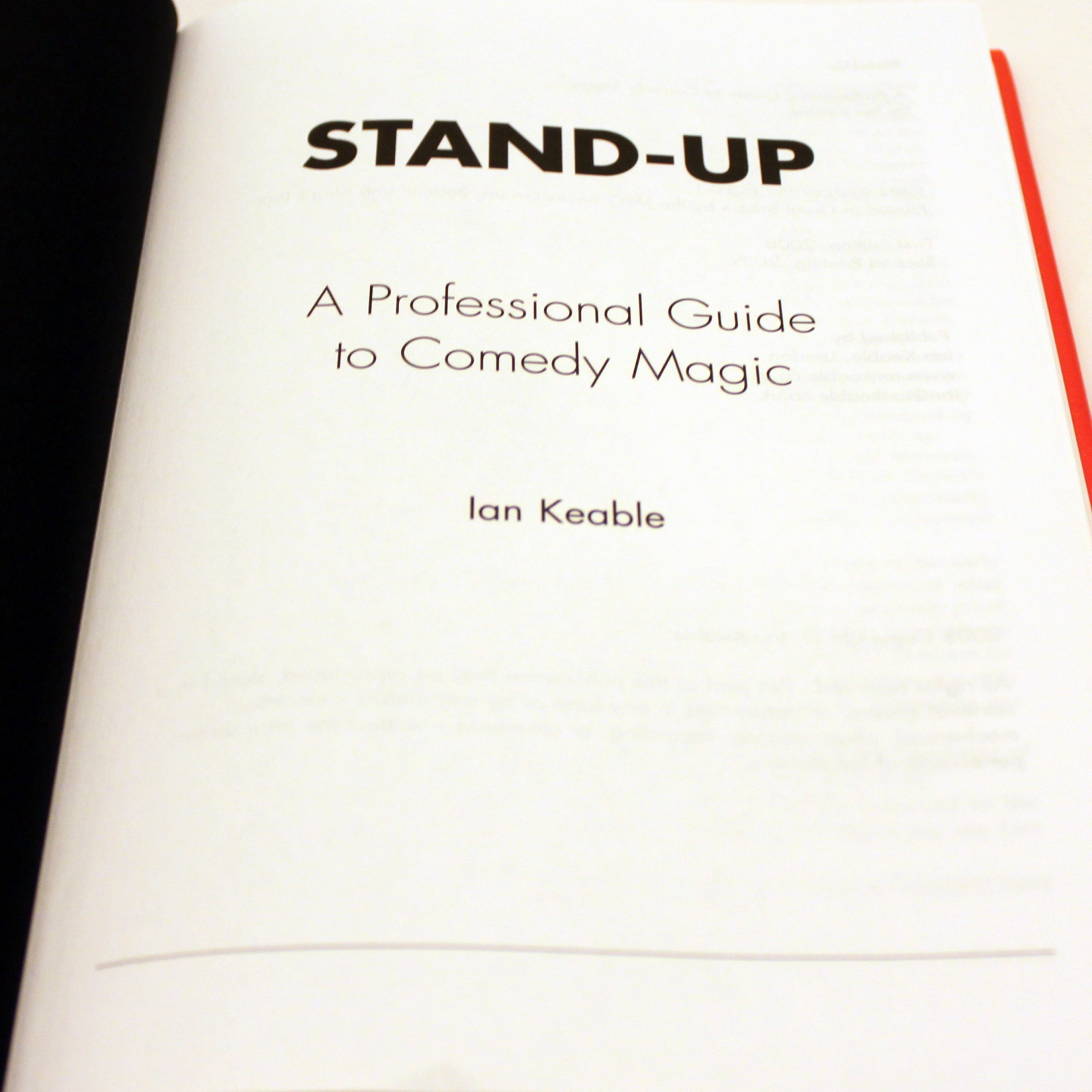 Stand Up by Ian Keable