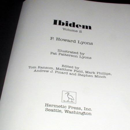 Ibidem - Vol. 2 by P. Howard Lyons