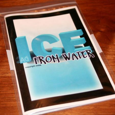 Review by Tom Pearson for Ice From Water by Andrew Gerard