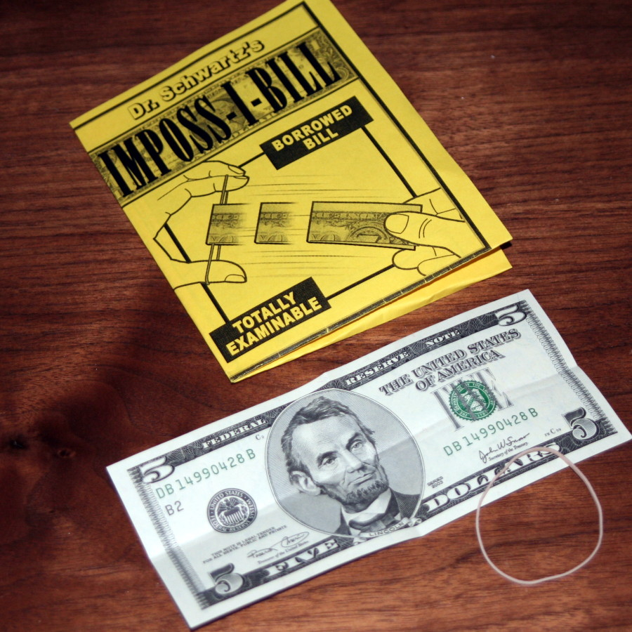 Imposs I Bill By Dr Schwartz Martin S Magic Collection