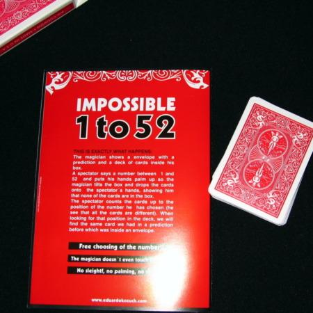 Impossible 1 to 52 by Eduardo Kozuch