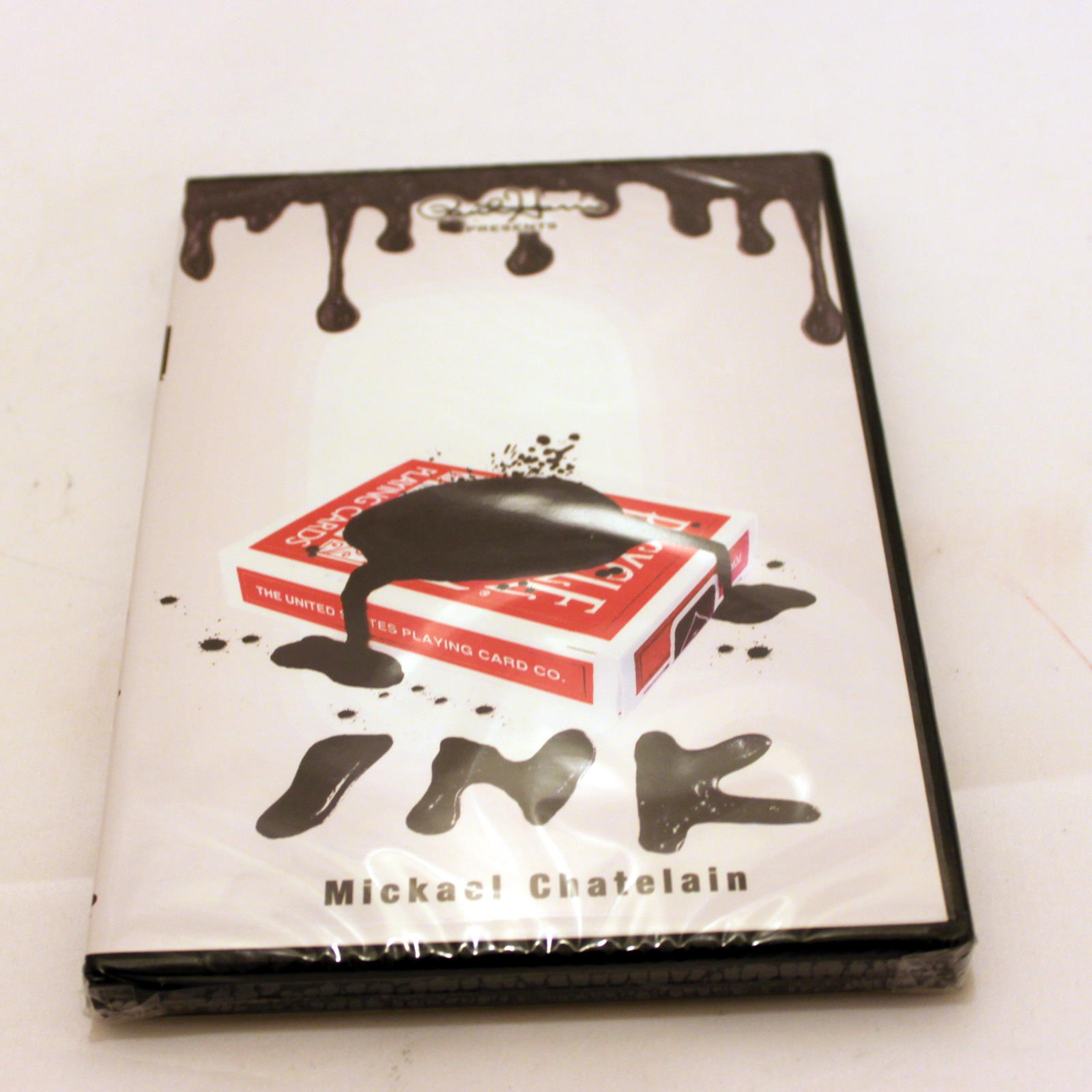 Ink Gimmick and DVD by Mickael Chatelain