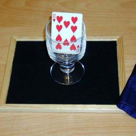 Invisible Card In Glass by El Duco's Magic