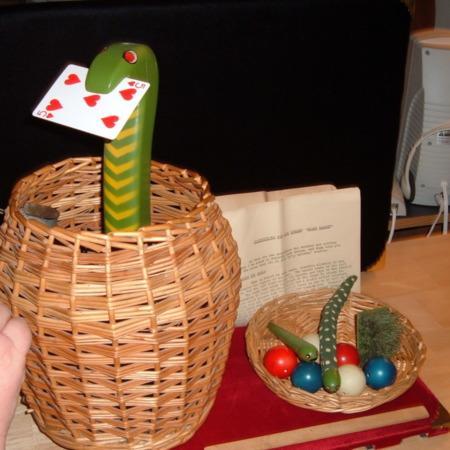 Snake Basket by Jack Hughes