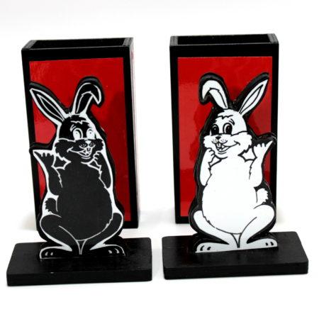 Elusive Rabbits by Jimmy Bix (Vienna)