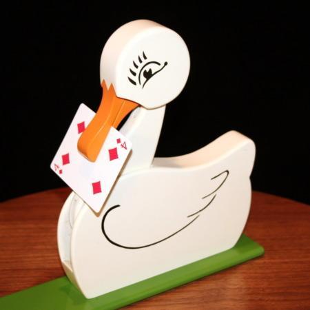 Jo-Anne - The Improved Card Duck by Warren Hamilton