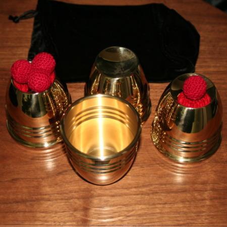 Johnson Cups and Balls by Johnson Precision Magic