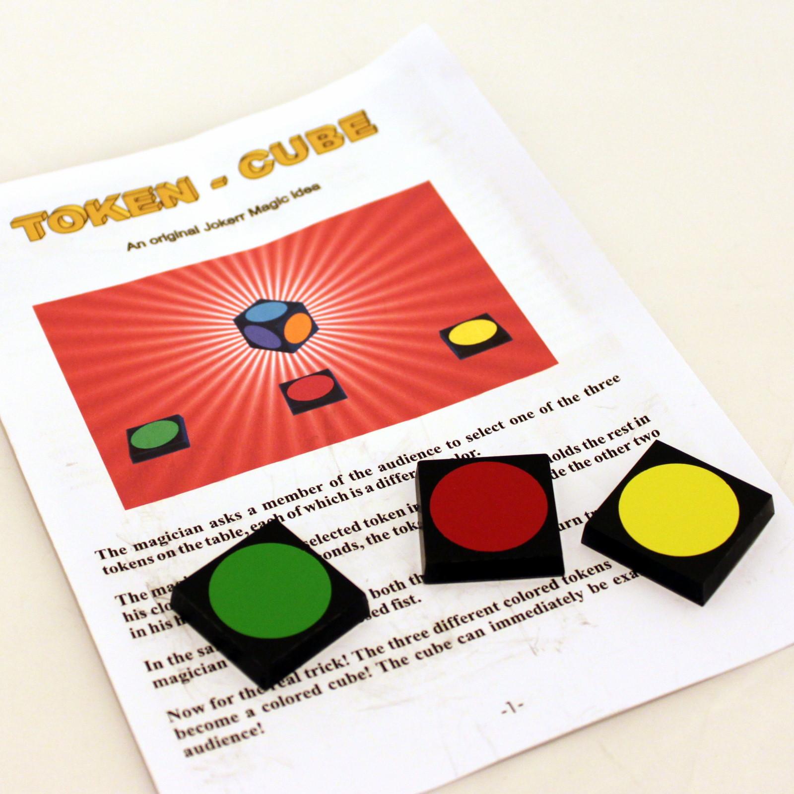 Token Cube by Joker Magic