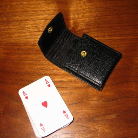 Minature Invisible Deck by Jerry O'Connell