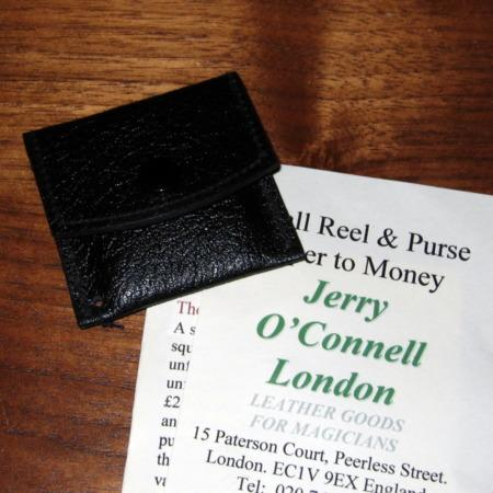 Small Purse + Money by Jerry O'Connell