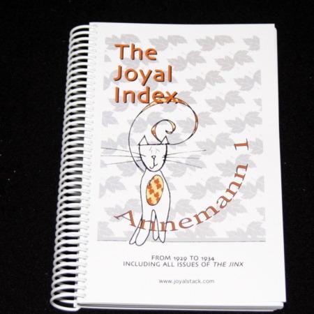 Joyal Index: Annemann 1 by Martin Joyal