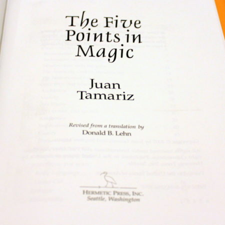 Five Points in Magic, The by Juan Tamariz