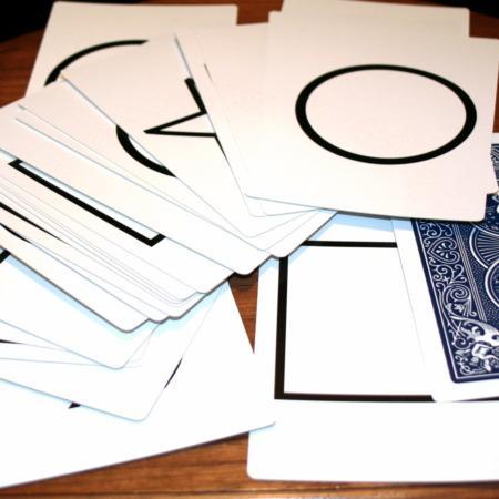 Jumbo Marked ESP Cards by Royal Magic