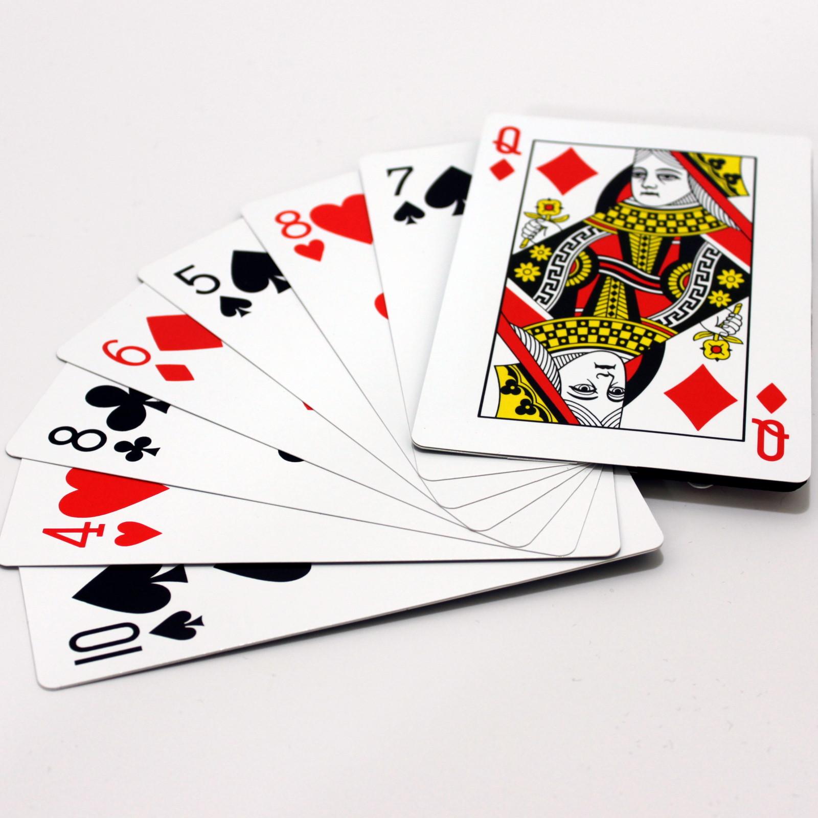 Jumbo Fan To Minature Card Castle by Ton Onosaka