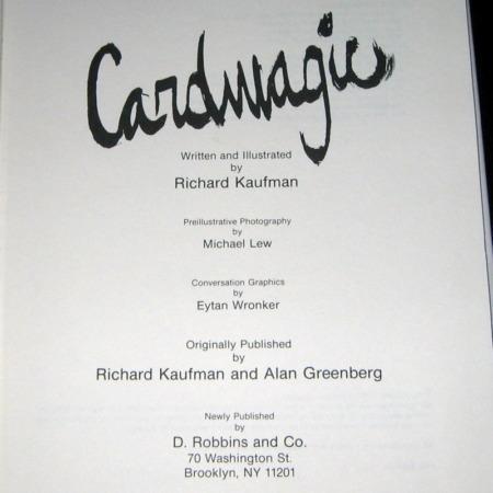 CardMagic by Richard Kaufman