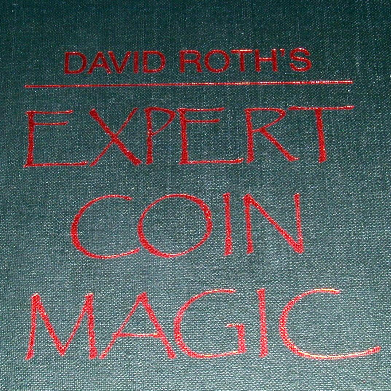 David Roths Expert Coin Magic by Richard Kaufman Book