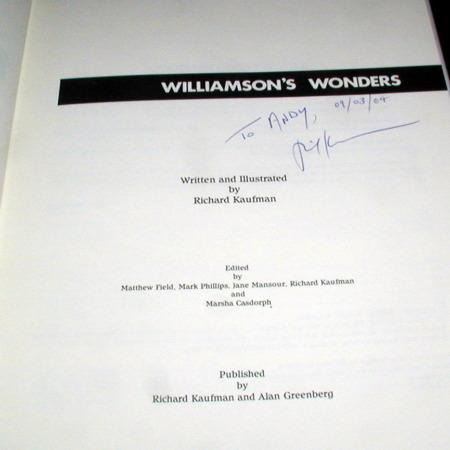 Williamson's Wonders by Richard Kaufman